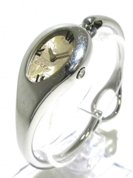 可使用~銀花面盤~GUCCI 古馳 103 ~ 是代標不是現貨~女用電池徑115X22mm帶長17cm