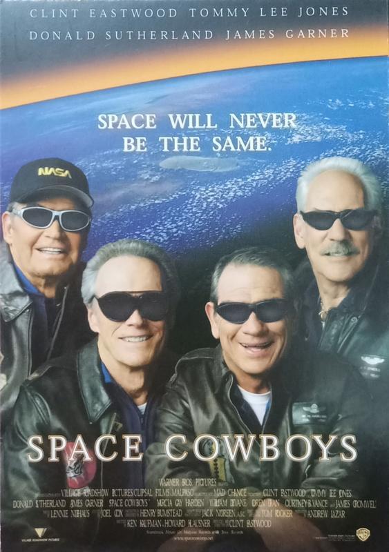 C電影酷卡明信片 太空大哥大 Space Cowboys 克林伊斯威特湯米李瓊斯 唐納蘇德蘭 詹姆士加納