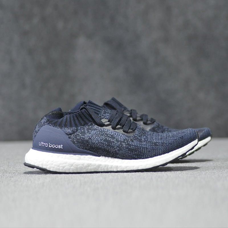 timeless design 01060 1b14d 【RS只賣正品】adidas Ultra Boost Uncaged BY2566 黑藍色 針織 襪套鞋 慢跑鞋