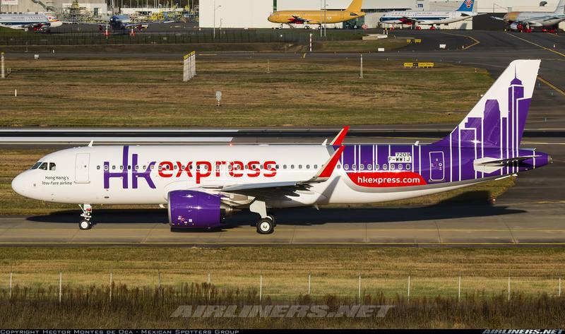 鐵鳥俱樂部JC Wings 1/200 香港快捷Hong Kong Express A320NEO B-LCL ...