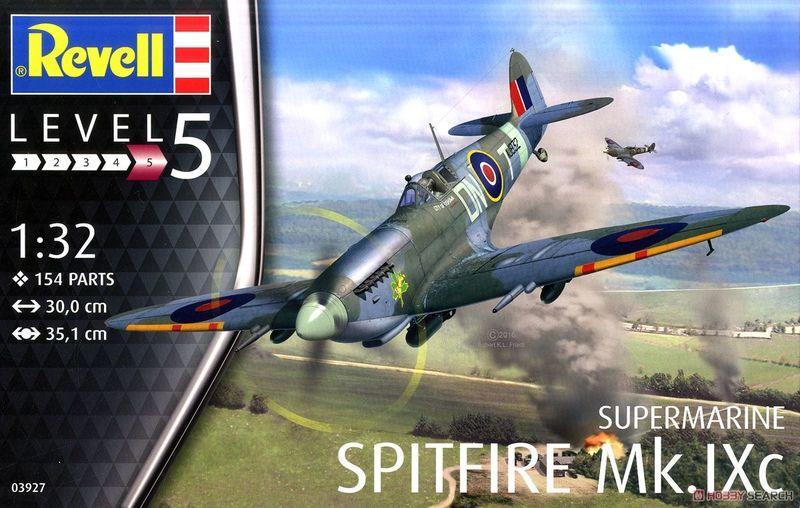 ☆兩津模型★ 利華 REVELL 1/32 Spitfire Mk.IXC 飛機 組裝模型 03927