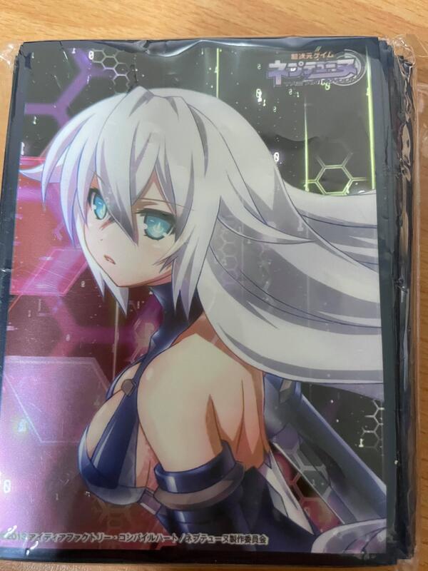 【FayzoShop】二手 卡套 超次元戰記 戰機少女 黑色之心 聖黑之心
