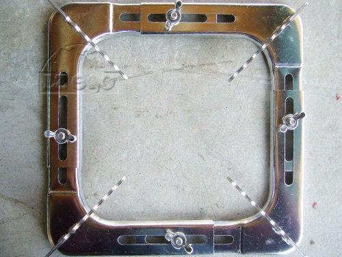 瓦斯爐架 (台灣製正、長方形可調整*1)
