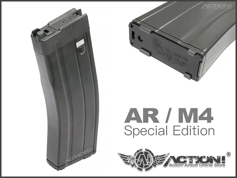 【Action!】現貨免運)VFC - 特仕刻印版 M4/VR16 GBB專用30發長彈匣 (CAR/DNA系統共用)