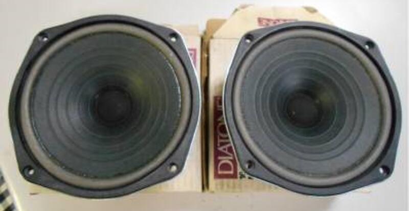 Diatone P-610FA 6.5吋全音域單體 1對