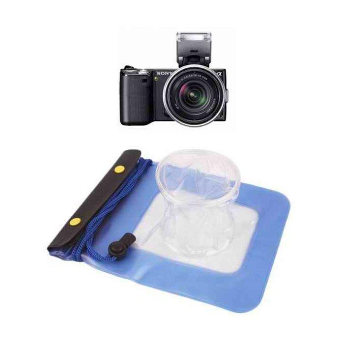【EC數位】通用款 微單 防水袋 潛水袋 戲水袋 canon Nikon sony 防水背袋