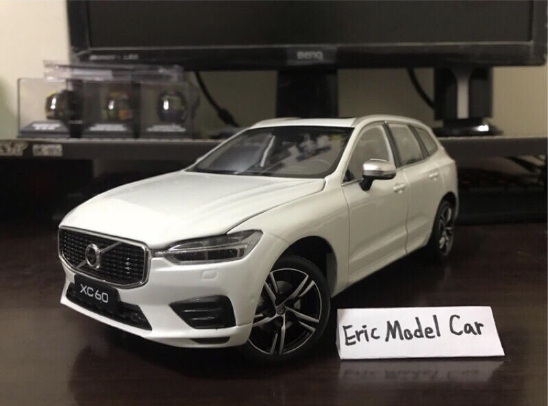 【E.M.C】1:18 1/18 原廠 Volvo XC60 T5 運動版 金屬模型車