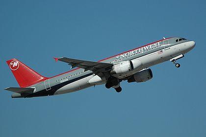 Geminijets 西北航空 Northwest A320 N365NW 1:400