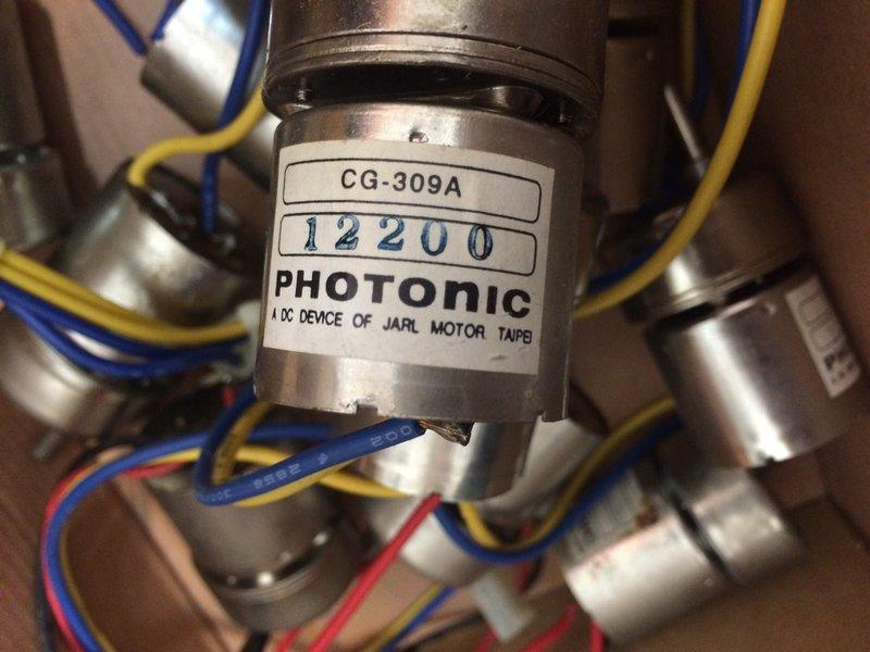 dc 直流馬達(photonic cg-309a) 含減速齒輪 附車輪 適用於自走車 電腦迷宮鼠