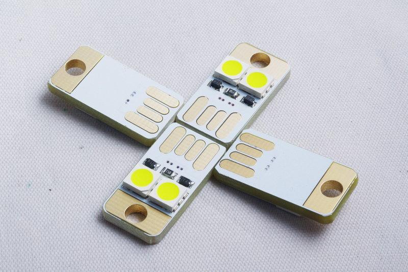 2LED USB 行動電源燈