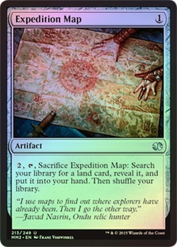 [ALG卡牌專門] MM 2015 近代大師 2015 Foil Expedition Map 閃 探險地圖 英文