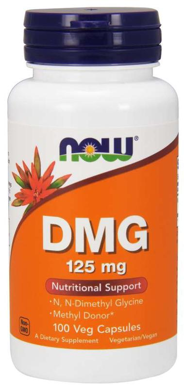[預購] Now DMG 氨基甲酸 125毫克 100粒 Pangamic Acid