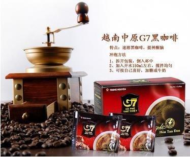 ~超值商品 快來逛逛~ 越南 G7 黑咖啡.(無糖.無奶精)一盒