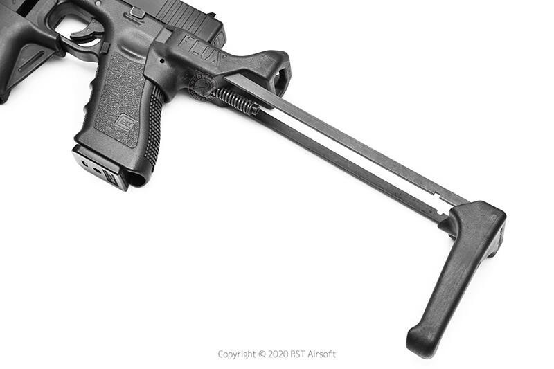 RST 紅星 - 復刻 FLUX GLOCK G17/G18C 伸縮槍托套件 FOR MARUI/WE規格 17669