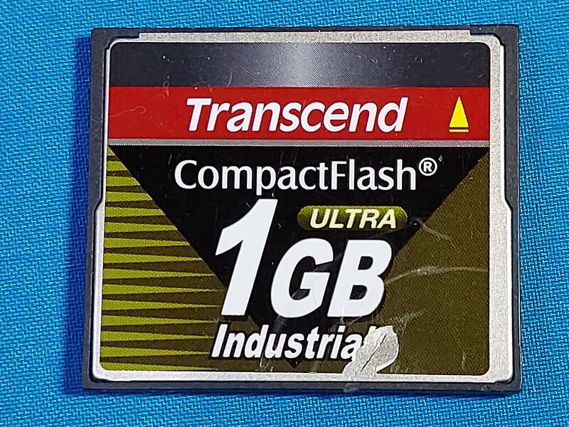 創見記憶卡 1G CF卡  終身保固 2手良品
