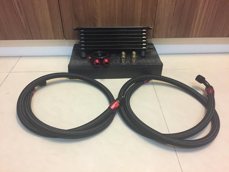 機油 自排 油冷 冷卻器 機油散熱器 改裝油冷