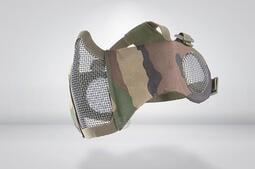 RST 紅星 - CM1面罩 武士系列 (護耳版) 護嘴 鐵網 面具 貼腮 護臉 叢林迷彩 ... 05099