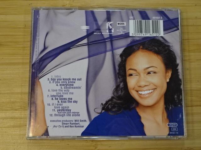 《啟元唱片》塔緹亞娜艾莉[R&B] TATYANA ALI 親吻藍天 KISS THE SKY 有側標 片況良好