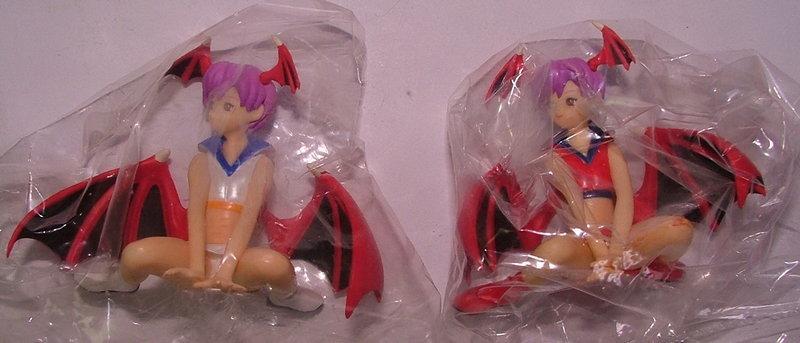 日版盒玩~CAPCOM COMPANION CHARACTERS卡普空女主角精選~莉莉絲~2色合售~特價300