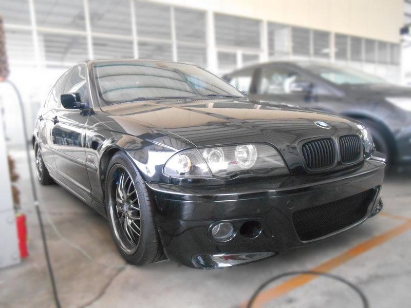 2001 BMW 318i E46 卡夢 空力套件 另售 320