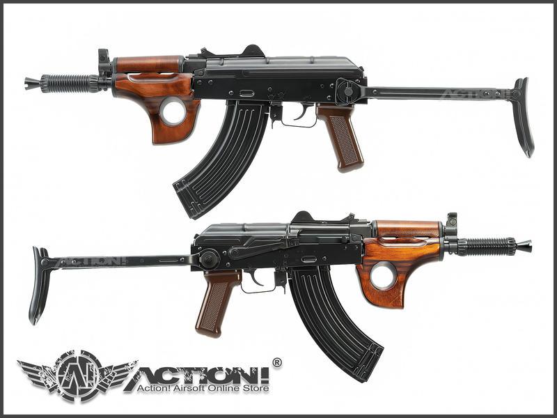 【Action!】現貨免運)GHK - AKMSU GBB氣動槍《2020年版本》