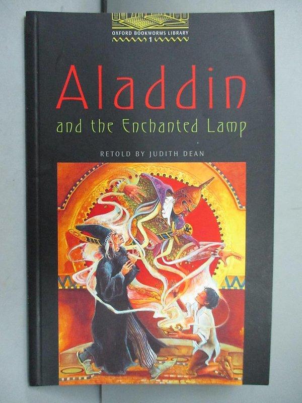 【露天書寶二手書T2/語言學習_NJL】Aladdin and the Enchanted Lamp: Level 1_