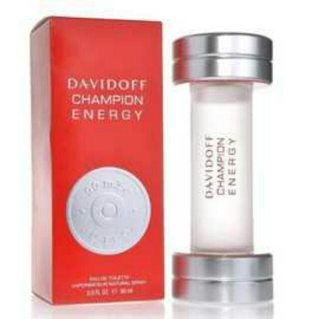 DAVIDOFF Champion Energy 王者之霸男性淡香水90ml
