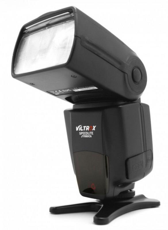 呈現攝影-Viltrox JY-680Ch TTL高速閃光燈 Canon用 ETTL 高速同步 從屬 光觸發 離機