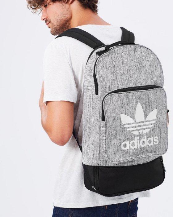9527 Adidas Originals ☆ 愛迪達 Street Casual 淺灰 雙肩 後背包 BP7815