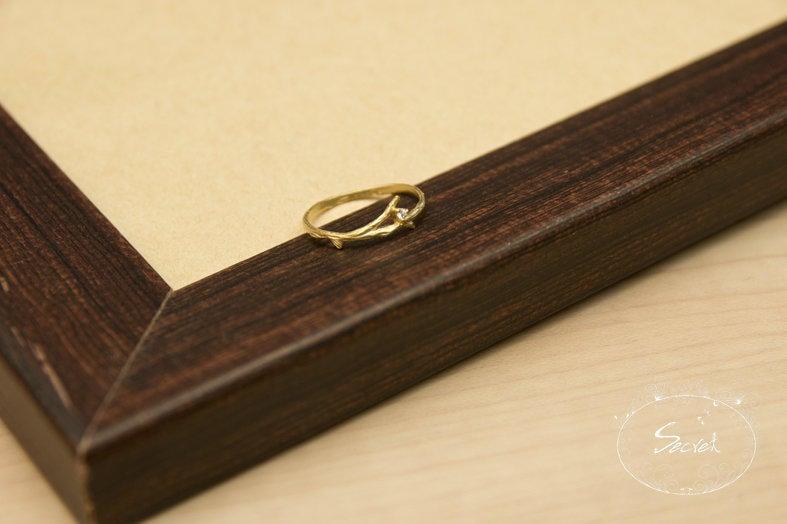 【秘密飾品】「純真之約」樹枝小鑽戒指 (現+預)