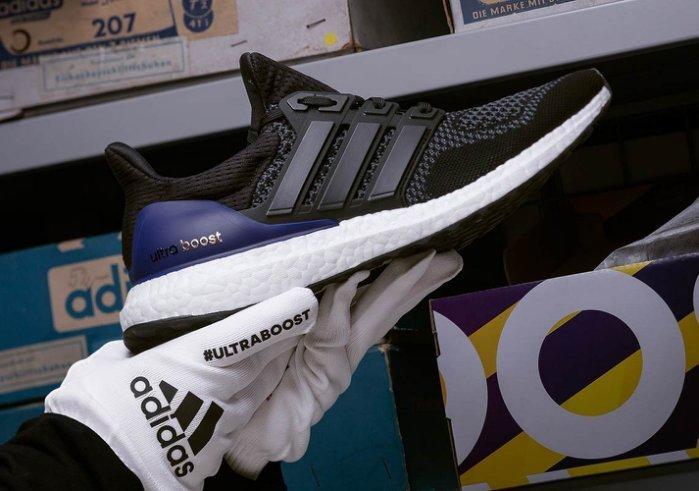 "best loved 1b43e e6801 S.G Adidas Ultra Boost ""OG"" 黑紫 首發配色 復刻 馬牌底 編織 頂級慢跑鞋 G28319"
