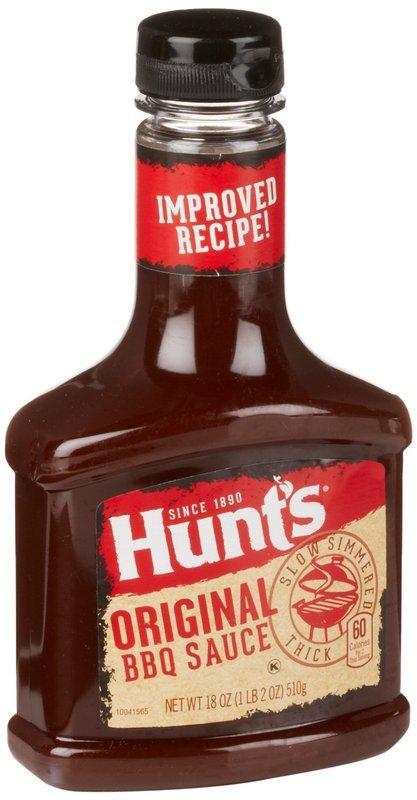 漢斯 BBQ 烤肉醬 Hunt's BBQ SAUCE 510g 美式烤肉醬 碳烤肋排醃醬 烤雞 必備