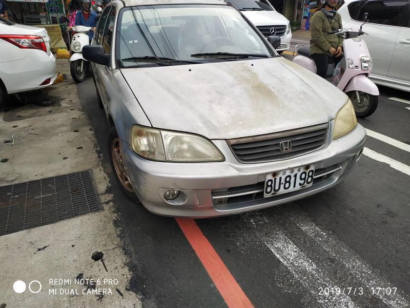 自售 一手車 性能優 2002年本田 HONDA CITY 1.5  civic tierra march 已售出