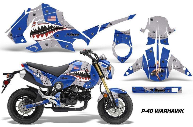 HONDA MSX 125 AMR Racing Bike Decal 限量 車身貼紙套件 美國進口高品質