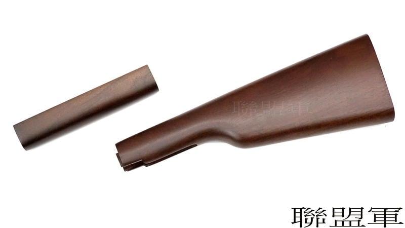 【聯盟軍 生存遊戲專賣店】UMAREX M1894 拋殼式馬槍 胡桃木槍托套件 實木 / 原木