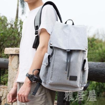 新款時尚潮流男士休閑大容量旅游後背包xx7085