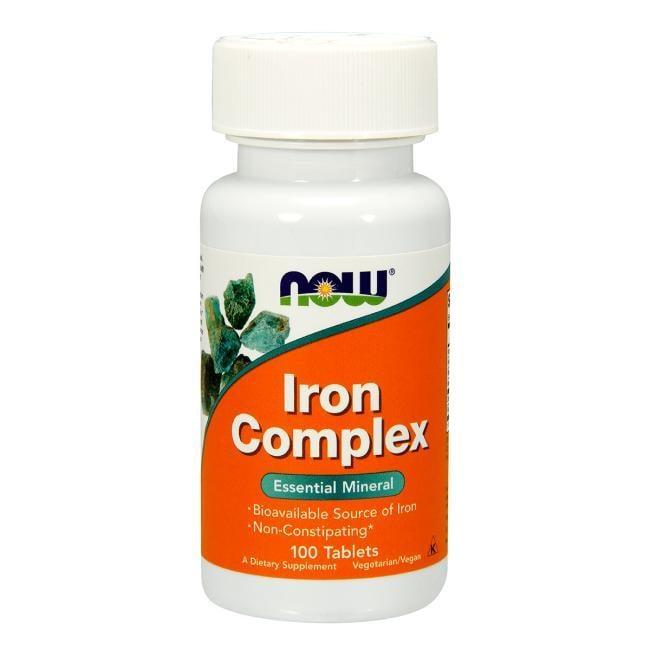 [預購] Now 鐵質複合物 100粒 Iron Complex