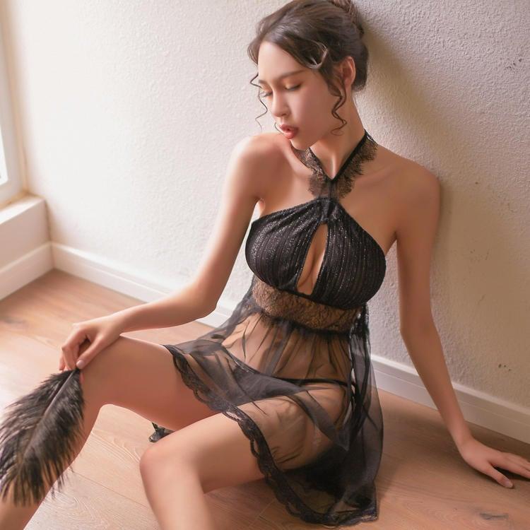 情趣內衣服性感透視裝SM小胸露乳激情制服大碼蕾絲睡衣夜店用品【潮咖地帶】