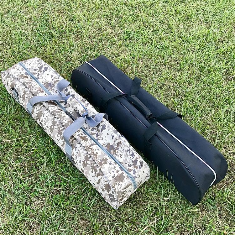 【熊愛露】大容量營柱袋.可放 24節33mm營柱.迷彩、黑色 營柱包 營柱收納袋 露營工具袋 營釘包