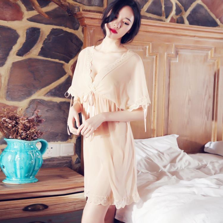 情趣內衣制服開檔夜火女性感三點式小胸血滴子激情套裝sm透視裝【潮咖地帶】