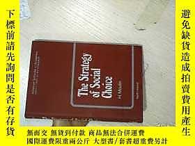 古文物The罕見Strategy of Social Choice 社會選擇策略 16開露天261116