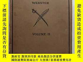 古文物World罕見History Webster(Volume 2)英文原版露天18930 Webster D.C.H