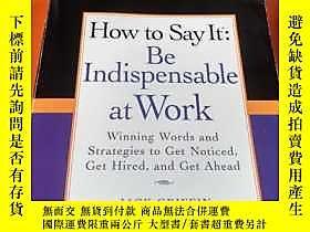 古文物How罕見to Say It: Be Indispensable at Work: Winning Words a