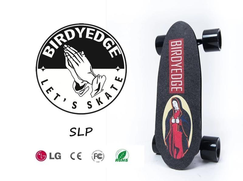 BIRDYEDGE 電動滑板 MINI 聖母可拆卸電動滑板(單驅動【加購備用電池】)【迪特軍】