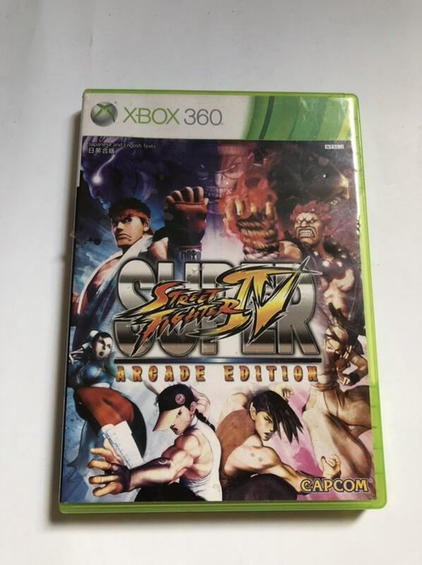Xbox360 快打旋風4 street fight iv