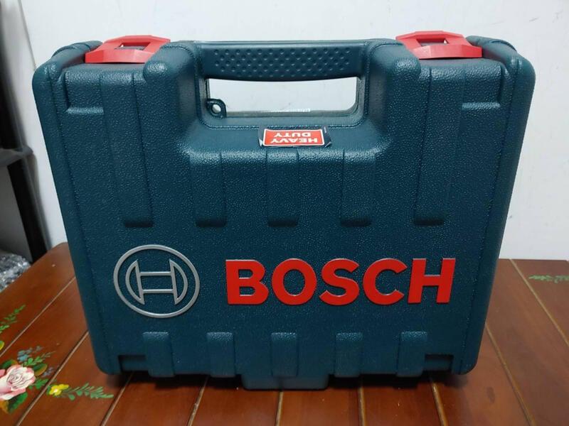 BOSCH GEX125-1AE 圓盤砂紙機 / 打蠟機 / 偏心砂紙機 附集塵盒  工具箱裝
