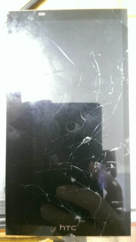 [螢幕破裂] 台南專業 HTC desire 816 玻璃 面板 液晶總成 更換 現場快速 手機維修