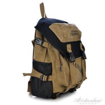 後背包男背包帆布包學生書包男女旅行包時尚電腦背包學院風