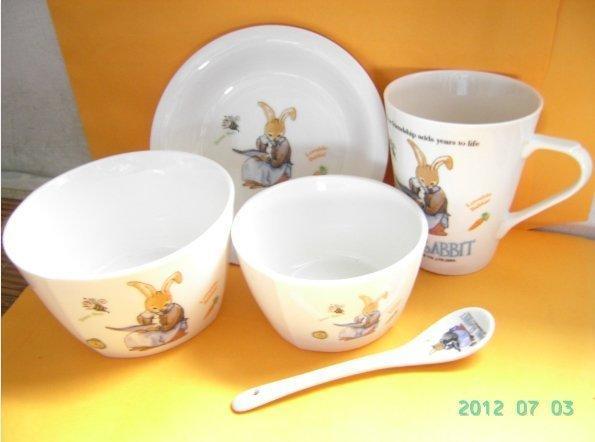 安妮兔餐具組