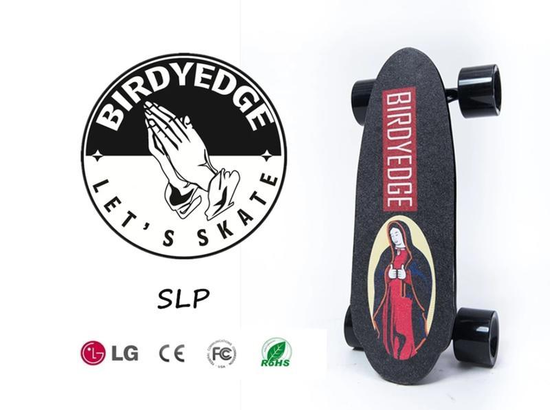 BIRDYEDGE 電動滑板 MINI 聖母可拆卸電動滑板(雙驅動【加購備用電池】)【迪特軍】